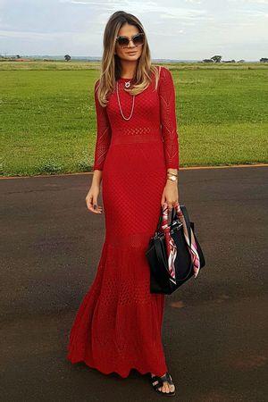 Vestido New Boheme Vermelho