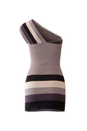 Vestido Bandagem Degradê Preto