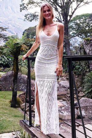 Vestido Tricô Serenity Off White