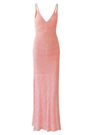 Vestido Tricô Serenity Rosa