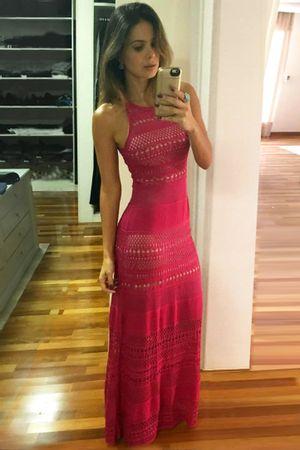 Vestido Tricô Liberty Pink