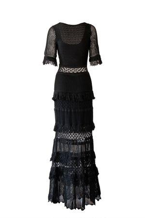 Vestido Tricot Penélope Preto