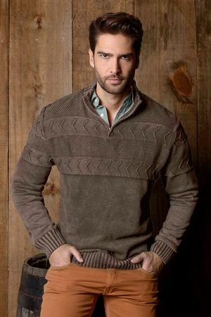 Tricot-Masculino-Textura-marrom