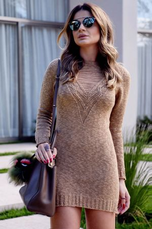 Thassia-naves-Pullover-dress-Trico-Caramelo