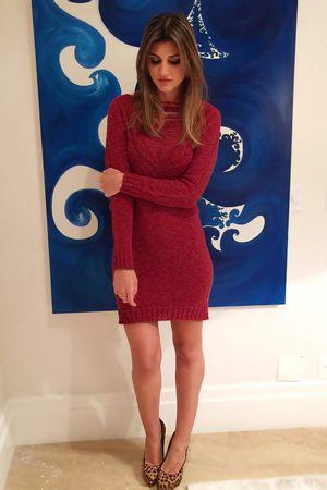 Pullover-dress-Trico-Terra-Maria-Rudge