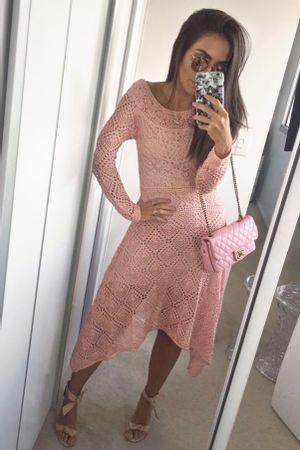 Vestido-Tricot-Pontas-Rosa-Lala-Noleto