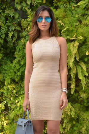 nicole-pinheiro-Vestido-Bandagem-Textura-Nude