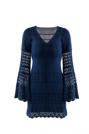 deborah-secco-Vestido-Maria-Flor-Adulto-Azul-Marinho