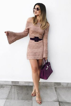 thassia-naves-Vestido-Tricot-Rayon-Flare-Nude