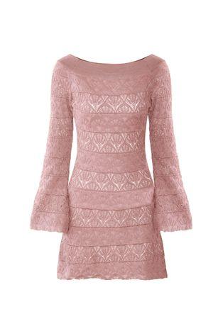 Vestido-Tricot-Rayon-Flare-rose