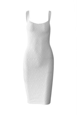 Vestido-Midi-Bandagem-Branco