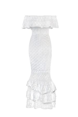 Vestido-Tricot-Flor-de-Liz-Branco