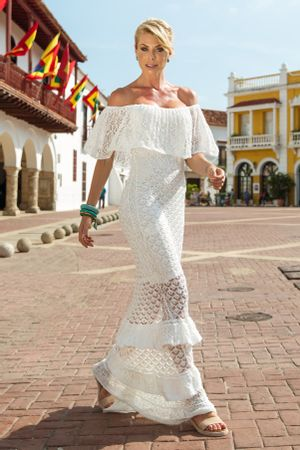Vestido-Trico-Flor-de-Liz-Branco