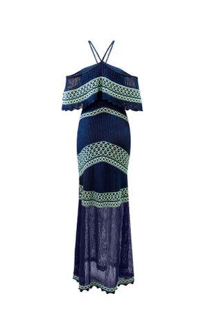 Vestido-Trico-Pesponto-Azul
