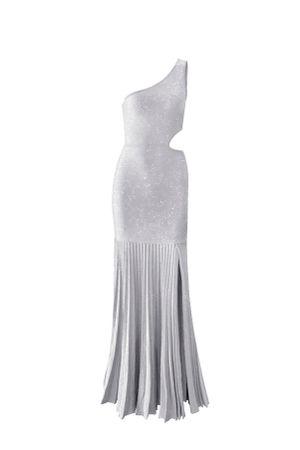 Vestido-Trico-Plissado-Fendas-Prata