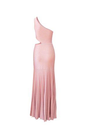 Vestido-Trico-Plissado-Fendas-Rosa