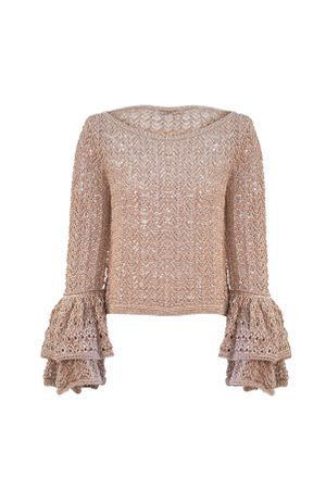 Blusa-Tricot-Renda-Lurex-Rose