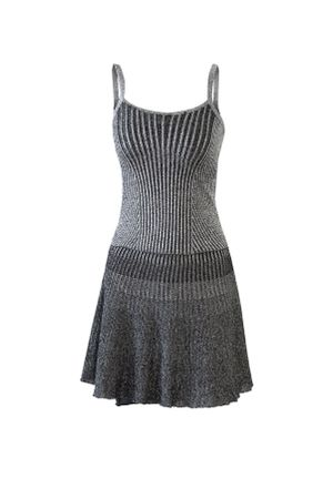 Night Knit Dress - Black