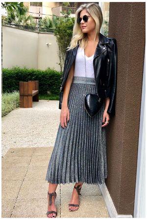 Skirt-Lurex-Midi-Pleated-Silver-Lala-Rudge