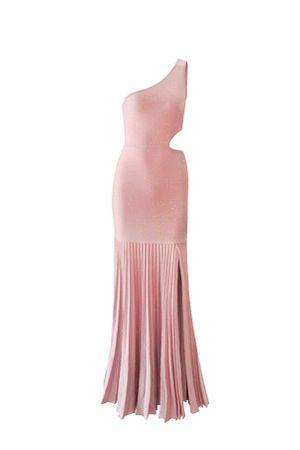 Vestido-Tricot-Plissado-Fendas-Rosa