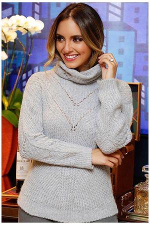 Ceuta Knit Top - Grey