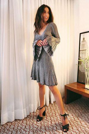 Vestido-Tricot-Plissado-Madri-Prata-luiza-sobral