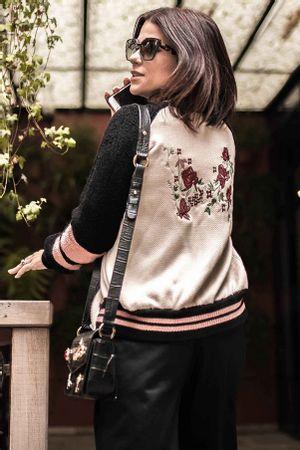 Jaqueta-tricot-Bordada-Rose