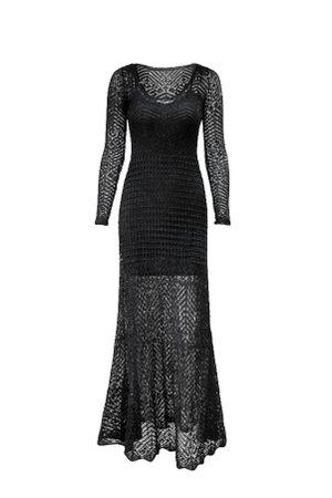Vestido-Tricot-Marbela-Preto