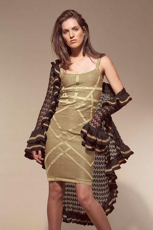 Vestido-Lurex-All-Star-Dourado