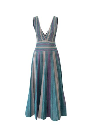 Vestido-Tricot-Aquamarine-Azul