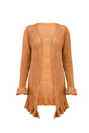 Cardigan-Tricot-Spring-Ouro