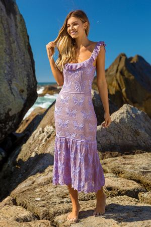 Manoela-Knit-Dress---Lavender