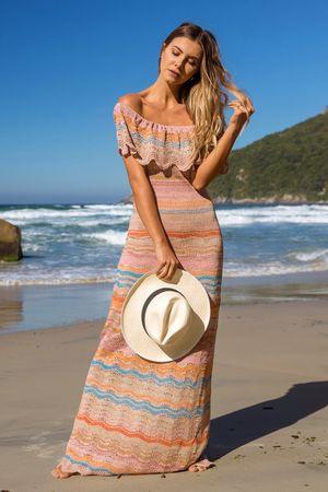 Luminus-Knit-Dress---Rose