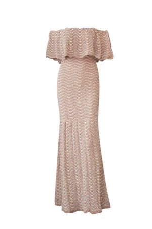 Shine-Mermaid-Knit-Dress---Nude