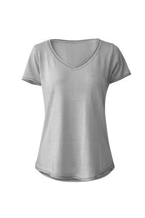 T-Shirt-Tricot-Basica-Cinza