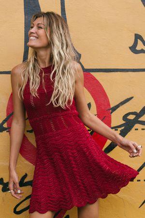 Vestido-Tricot-Wave-Vermelho