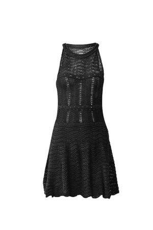 Wave-Knit-Dress---blck