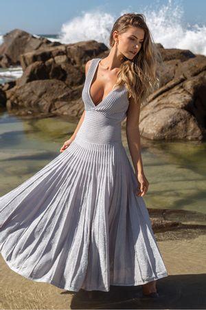 Vestido-Tricot-Aquamarine-Prata