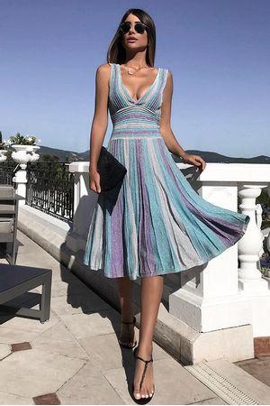 chris-bittar-Vestido-Tricot-Aquamarine-Azul