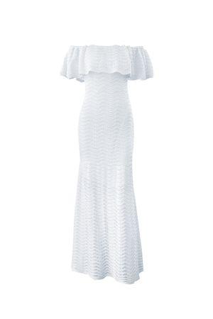 Vestido-Tricot-Shine-Mermaid-Branco