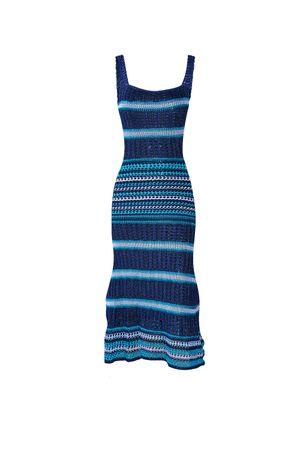 Melina-Knit-Dress---Blue
