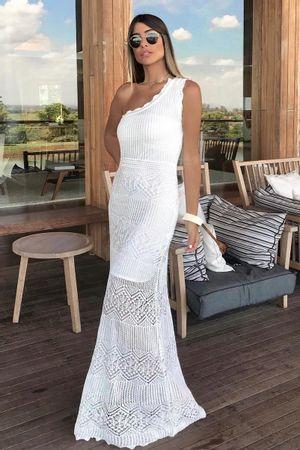 chriss-bittar-Mikonos-Knit-Dress---White
