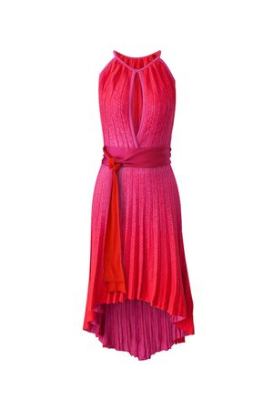 Eduarda-Knit-Dress---Red