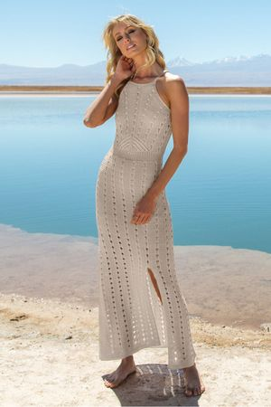 Vestido-Tricot-Longo-Julieta-Areia