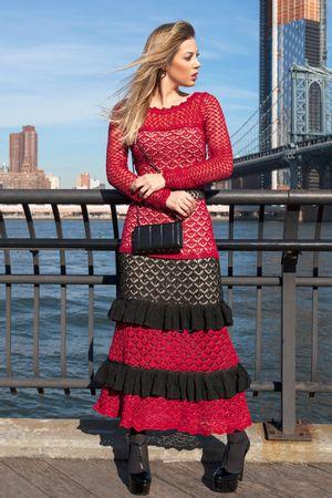 Vestido-Tricot-Longo-Cartagena-Vermelho-2