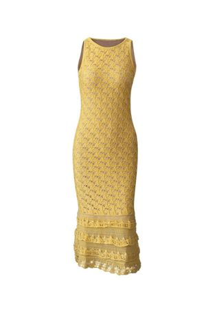 Debora-Knit-Dress---yellow