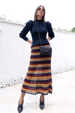 Meryl-Knit-Skirt---Blue