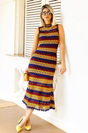 Vestido-Tricot-Meryl-Azul