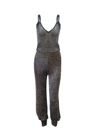 Charlize Knit Jumpsuit - Multicolor
