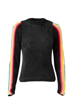 Blusa-Tricot-arco-iris-preta